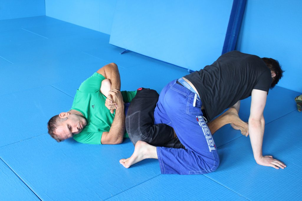 Inside Heel Hook aus der Backside 50/50 Position